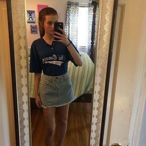 size 7 levi jean skirt